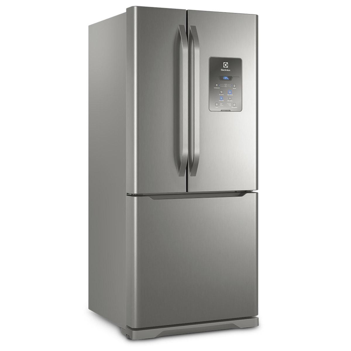 Refrigerador French Door Electrolux 579L Inox (DM84X)