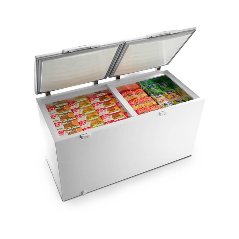 Freezer Electrolux Horizontal Cycle Defrost Branco 385L H400