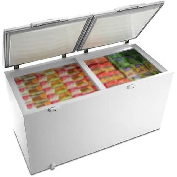 Freezer horizontal electrolux 385 litros dupla função branco - h400c - branco 110 v