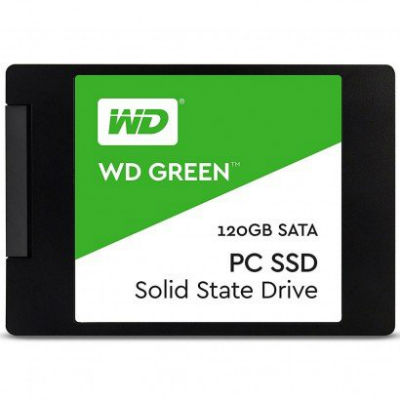 SSD WD Green 120GB SATA III 6GB/s WDS120G1G0A