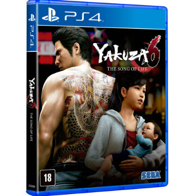 Yakuza 6 The Song of Life – PlayStation 4