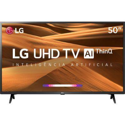 Smart TV LED 50″ 4K LG 50UM7360 3 HDMI 2 USB Wi-Fi Bluetooth