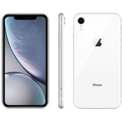 "iPhone XR 128GB Branco Tela 6.1"" iOS 12 4G 12MP – Apple"
