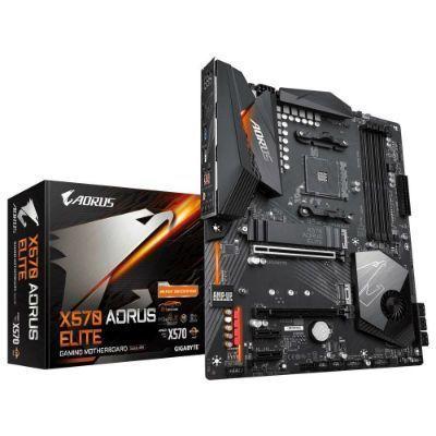 Placa-mãe Gigabyte X570 Aorus Elite AMD AM4 ATX DDR4