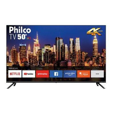 "Smart TV LED 50"" Philco PTV50G70SBL Ultra HD 4K"