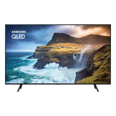 Smart TV QLED 55″ Samsung QN55Q70RAGXZD Ultra HD 4K com conversor Digital 4 HDMI 2 USB Wi-Fi Pontos Quânticos 120Hz- Preta