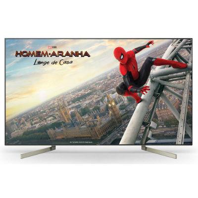 Smart TV LED 4K 65″ Sony XBR-65X905F 4 HDMI 3 USB Android TV Wi-Fi Bluetooth 120Hz