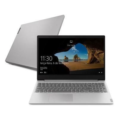 Notebook Lenovo Ideapad S145 AMD Ryzen 7 8GB W10 SSD 256GB 15.6 Prata
