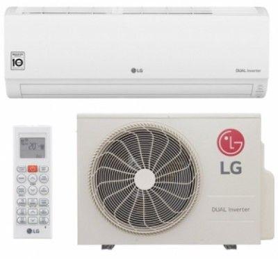 Ar Condicionado Split Hi Wall LG DUAL Inverter Voice 9000 BTUs Frio – S4-Q09WA51A – 220V