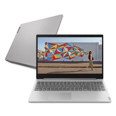 Notebook Lenovo Ultrafino ideapad S145 i5-8265U 8GB 2TB 15.6′ HD Linux 81S9S00300 Prata