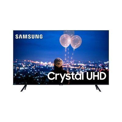 Smart TV Crystal 55″ Samsung TU8000 UHD 4K Bluetooth, HDR, Comando de Voz, Modo Ambiente Foto, Borda Ultrafina