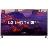 "Smart TV LED 43"" Ultra HD 4K LG 43UK6510"