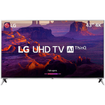 "Smart TV LED 43"" Ultra HD 4K LG 43UK6510"
