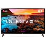 [PayPal] Smart TV LED 43″ LG ThinQ AI Full HD HDR 43LK5750