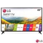 """Smart TV LG LED Full HD 49"""" com Time Machine Ready, webOS 3.5, Quick Access e Wi-Fi – 49LJ5550"""