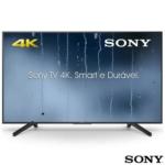 "Smart TV 4K Sony LED 55"" com 4K X-Reality Pro, Motionflow XR 240 e Wi-Fi – KD-55X705F"