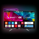 Smart TV LED 65″ Philips 65PUG6412/78 Ultra HD 4k
