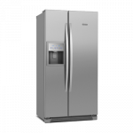 Refrigerador Side By Side Frost Free SS72X 504L Titanium Electrolux