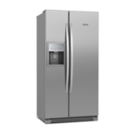 Refrigerador Side By Side Frost Free SS72X 504L Titanium Electrolux