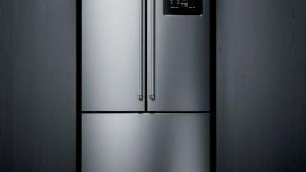 Geladeira Brastemp Gourmand Frost Free Side Inverse 540 litros Inox com Ice Maker – BRO81AR