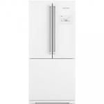 Geladeira Brastemp Frost Free Side Inverse 540 litros Branca com Ice Maker – BRO80AB