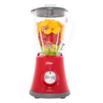 Liquidificador Oster Super Chef BLSTMG-RR8-317 Jarra de Vidro 1,25L 750W Vermelho