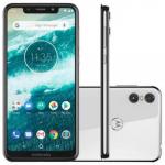 Smartphone Motorola Moto One 64GB White 4G Tela 5,9″ Câmera 13MP Selfie 8MP Dual Chip Android 8.1