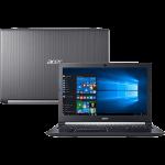 Notebook A515-51-75RV Intel Core I7-7500u 8GB 1TB LED 15.6″ W10 Cinza- Acer
