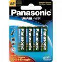 Pilha AA UM3SH Cartela Panasonic