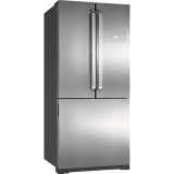 Refrigerador Brastemp Side Inverse BRO80 540 Litros Ice Maker Evox