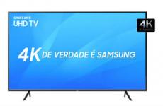 Smart TV LED 65″ Samsung Ultra HD 4k UN65NU7100GXZD com Conversor Digital 3 HDMI 2 USB Wi-Fi Solução Inteligente de Cabos HDR Premium Smart Tizen