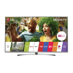 Smart TV 4K Ultra HD LG LED 70 polegadas 70UJ6585