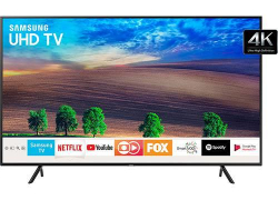 "Smart TV UHD 4K Samsung LED 49"" com Solução Inteligente de Cabos, HDR Premium e Plataforma Smart Tizen – UN49NU7100GXZD"