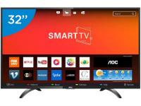 Smart TV LED 32″ AOC LE32S5970S 3 HDMI, 2 USB, com Wi-Fi